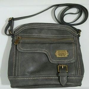 BOC  Born concepts women's gray crossbody bag.